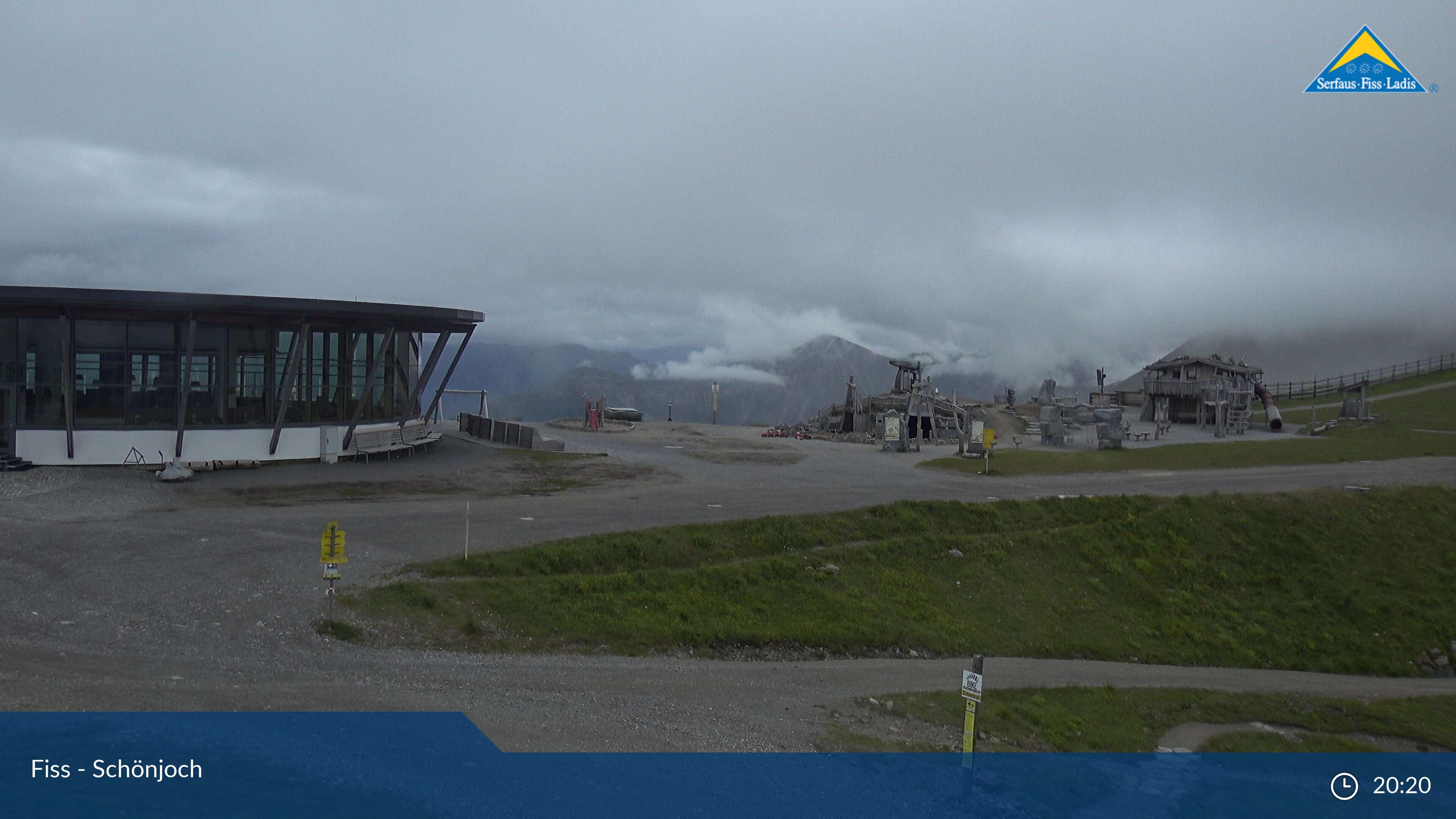 Serfaus - Fiss webcam - Schoenjoch