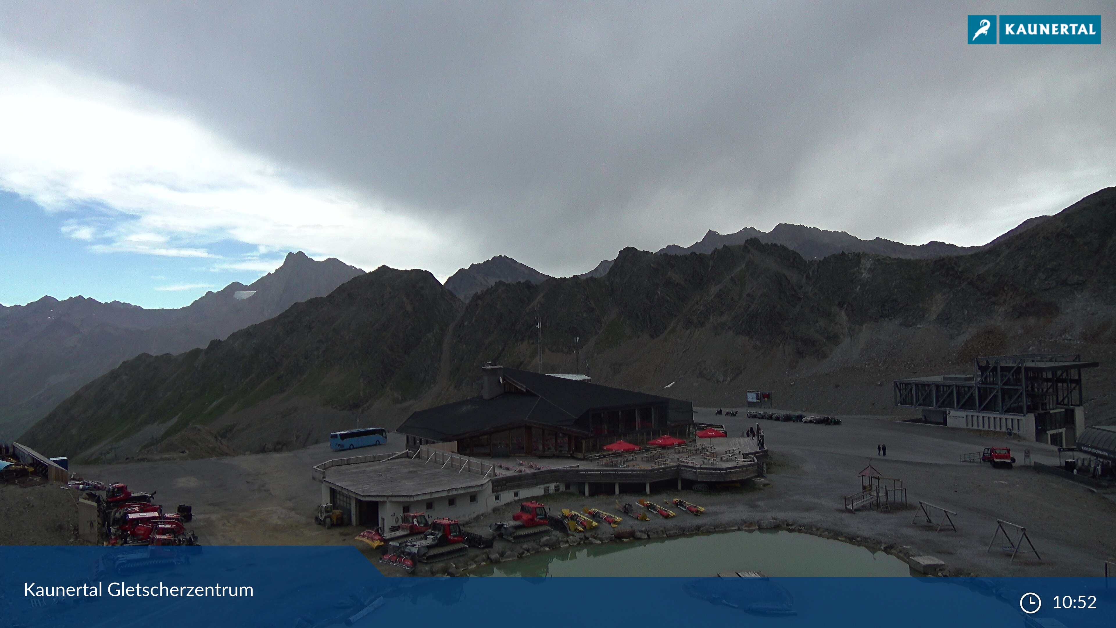 Kaunertal webcam - Kaunertaler glacier 2.750 m
