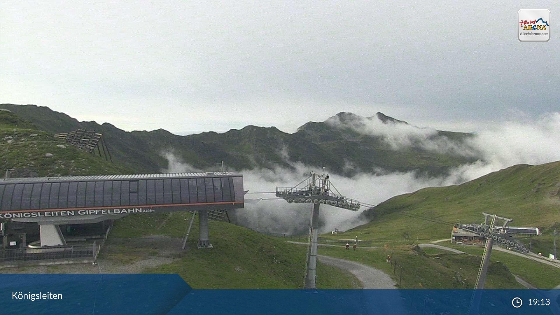 Zillertall Arena Wald im Pingzau webcam - Königsleiten