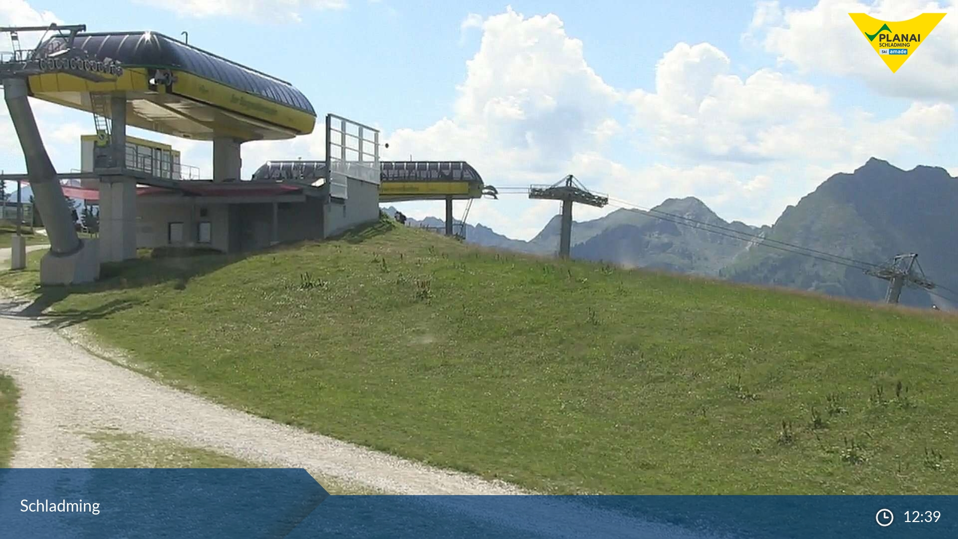 Schladming webcam - Planai ski station