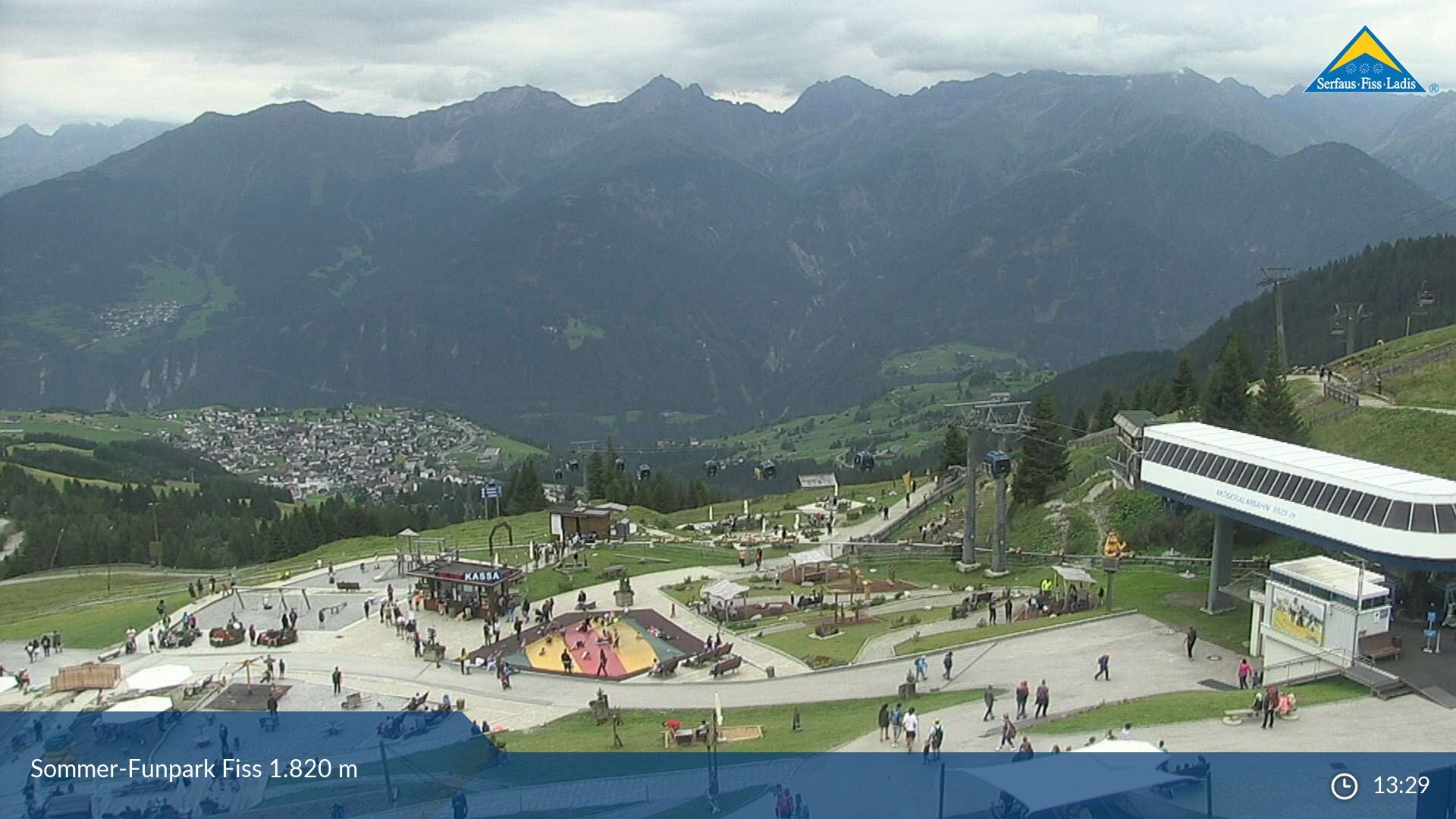 Ladis - Fiss webcam - Möseralm 1.812m