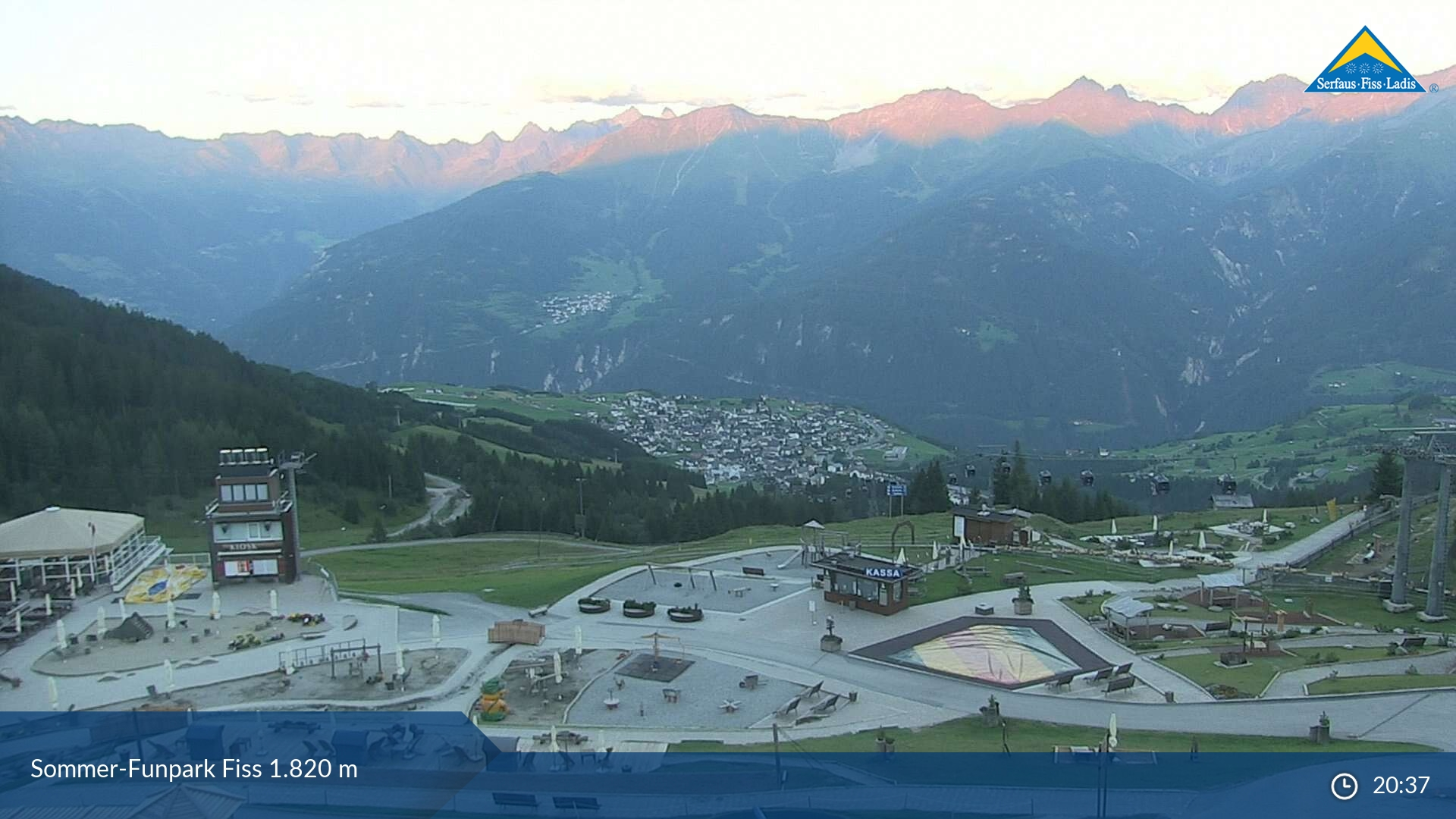 Fiss webcam - Möseralm