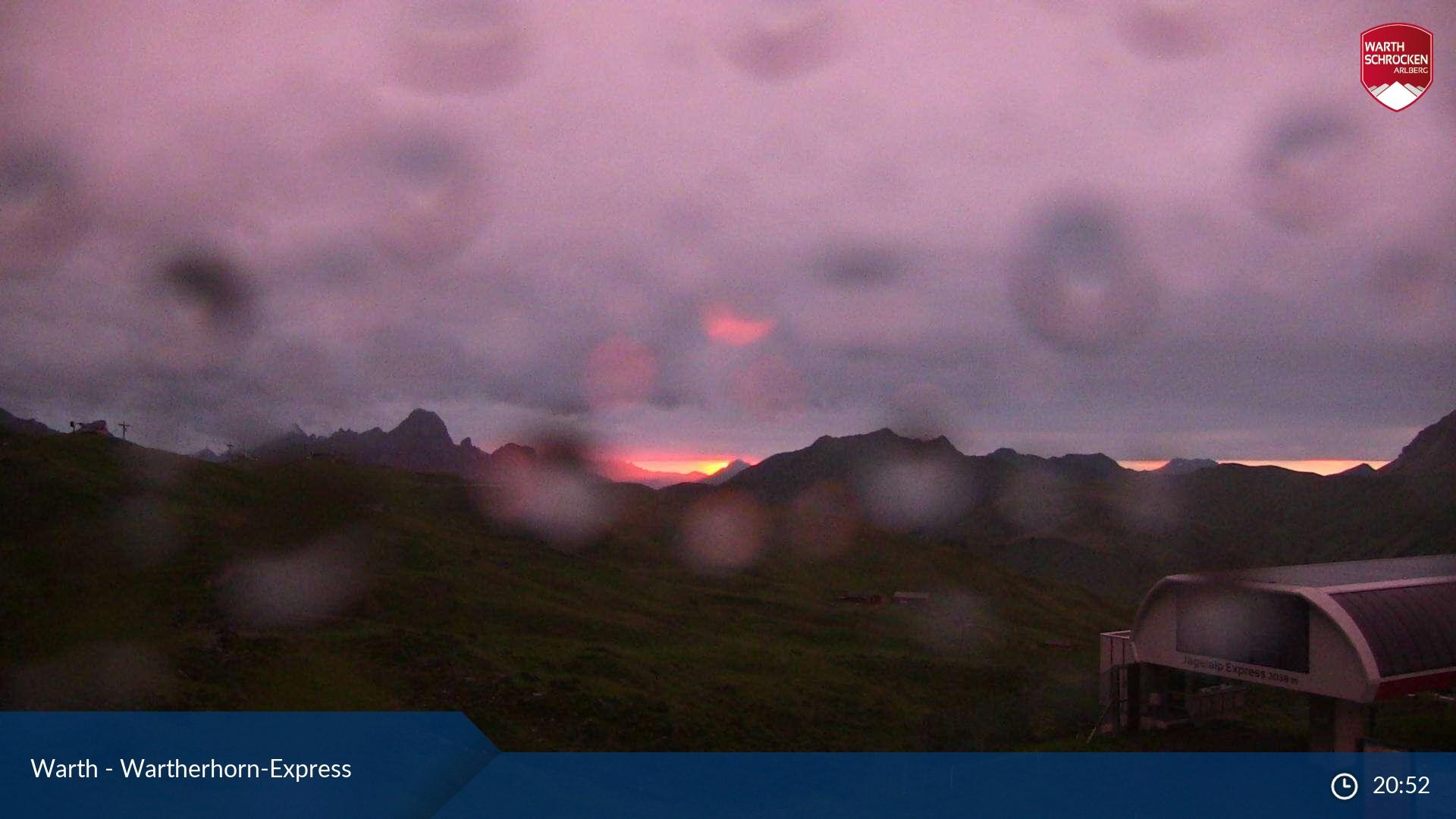 Ski Arlberg - Warth webcam - Wartherhorn Express