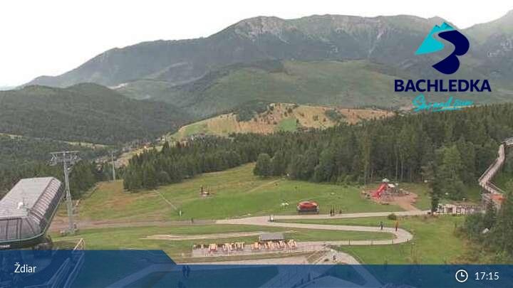 Ski Bachledova webkamera