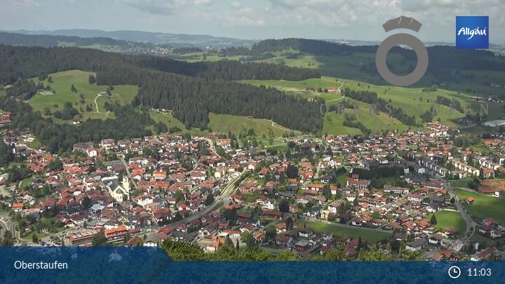Webcam Oberstaufen auf dem Staufen