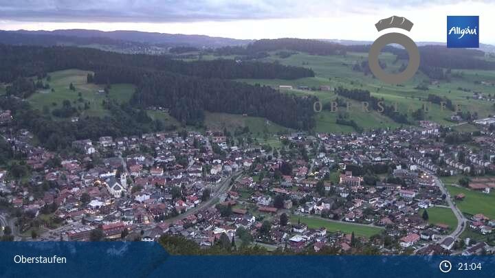 Bild der Webcam Oberstaufen