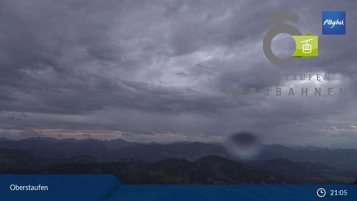Bild der Webcam Hochgratbahn Oberstaufen
