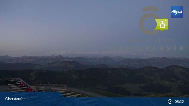 Webcam Panoramabild Hochgrat