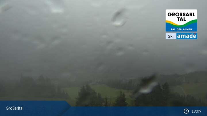 Grossarltal Sípálya Élő webkamera