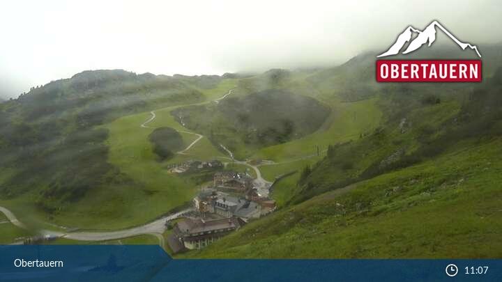 Obertauern sípálya Élő Webkamera