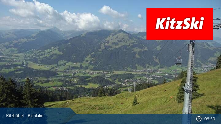 Kitzbühel Bichlalm Live Webcam
