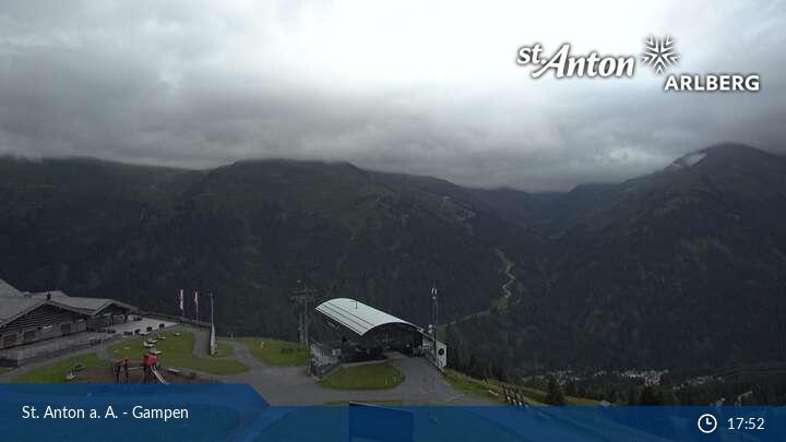 St.Anton Gampen Élő webkamera