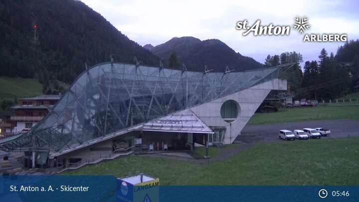 St.Anton Skicenter Élő webkamera