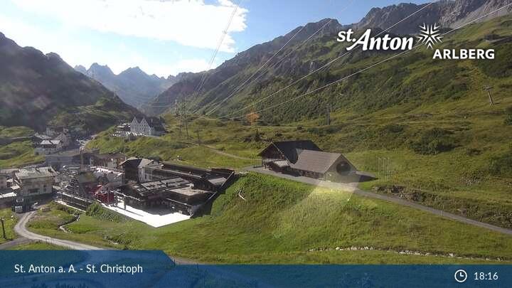 St.Christoph Élő webkamera
