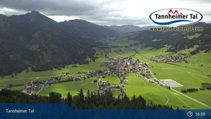 Bild der Webcam Tannheimer Tal