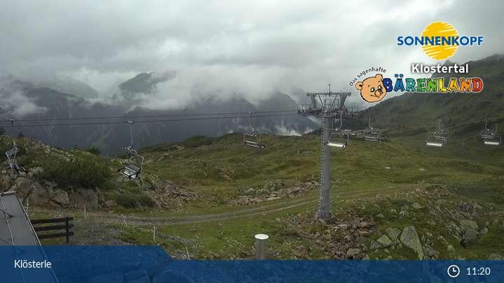 Livecam bei der Sonnenkopfbahn Bergstation