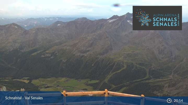 Webcam Mountain Station of the Senales Valley Glacier