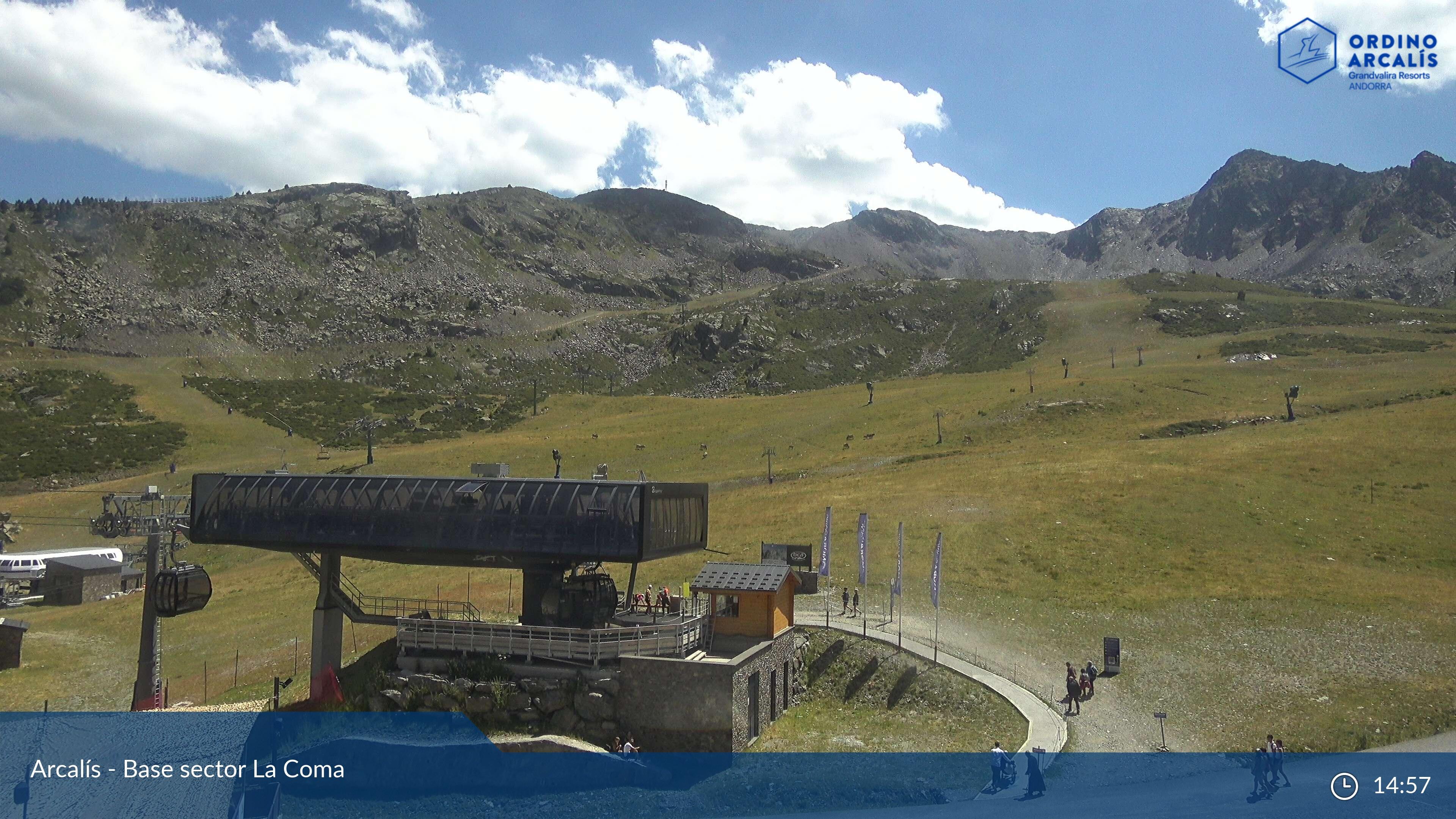 Webcam de La Coma - Base