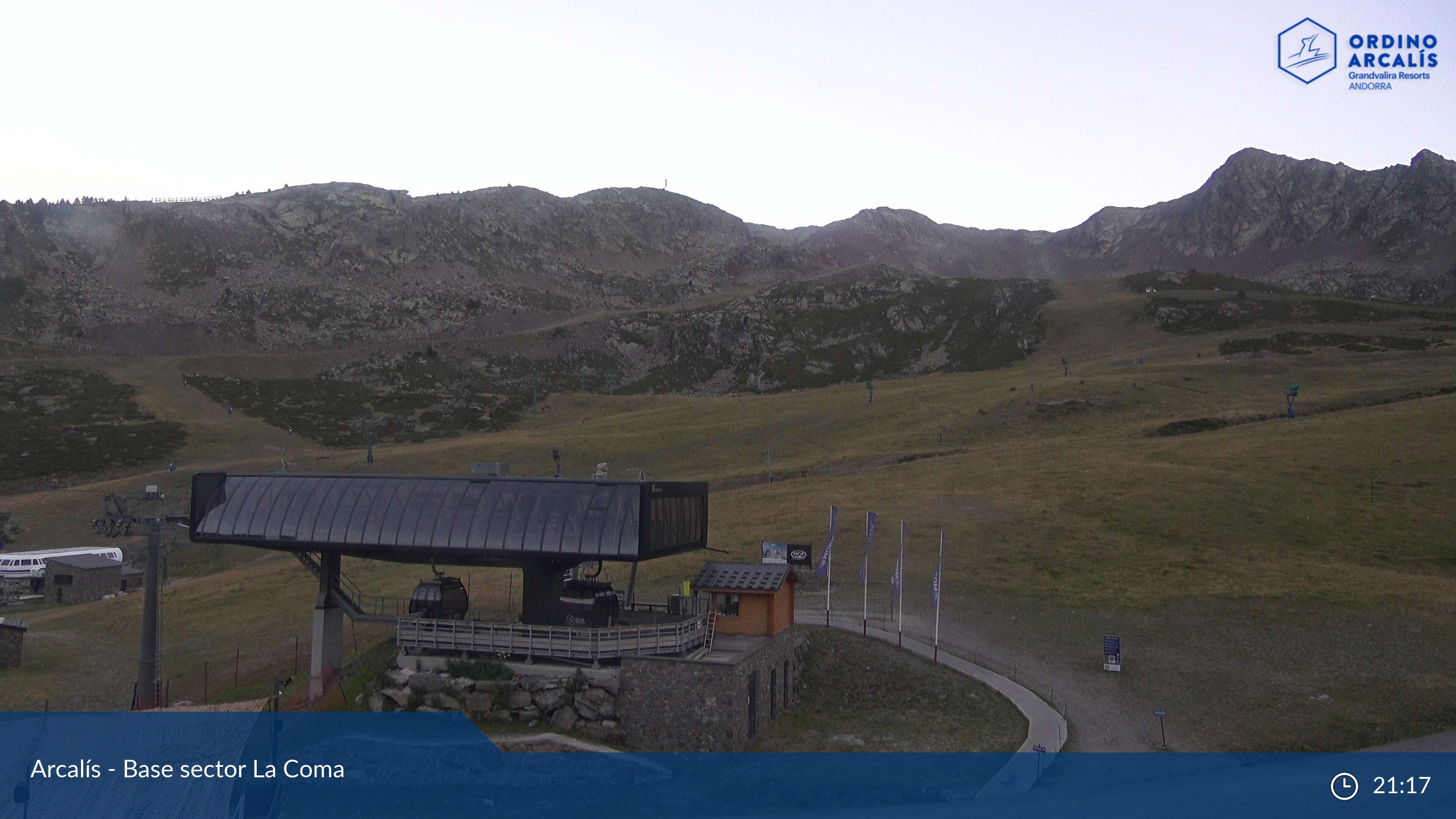 Webcam en La Coma - Telecabina