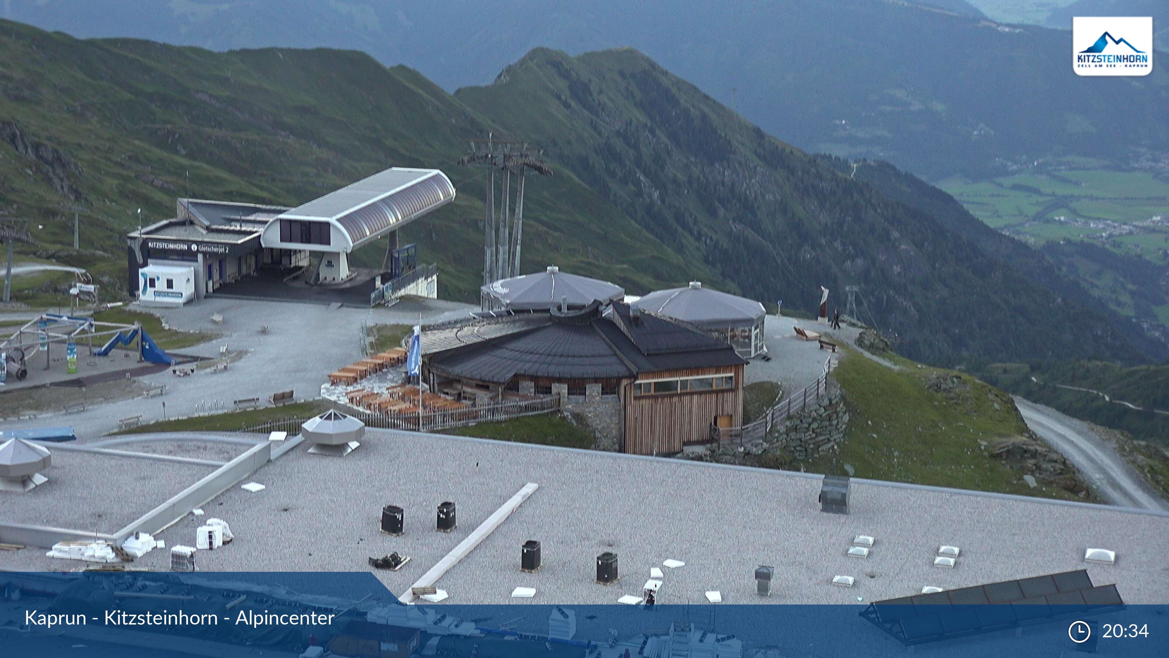 Webcam en Kitzsteinhorn - Alpincenter, Zell am See - Kaprun (Austria)