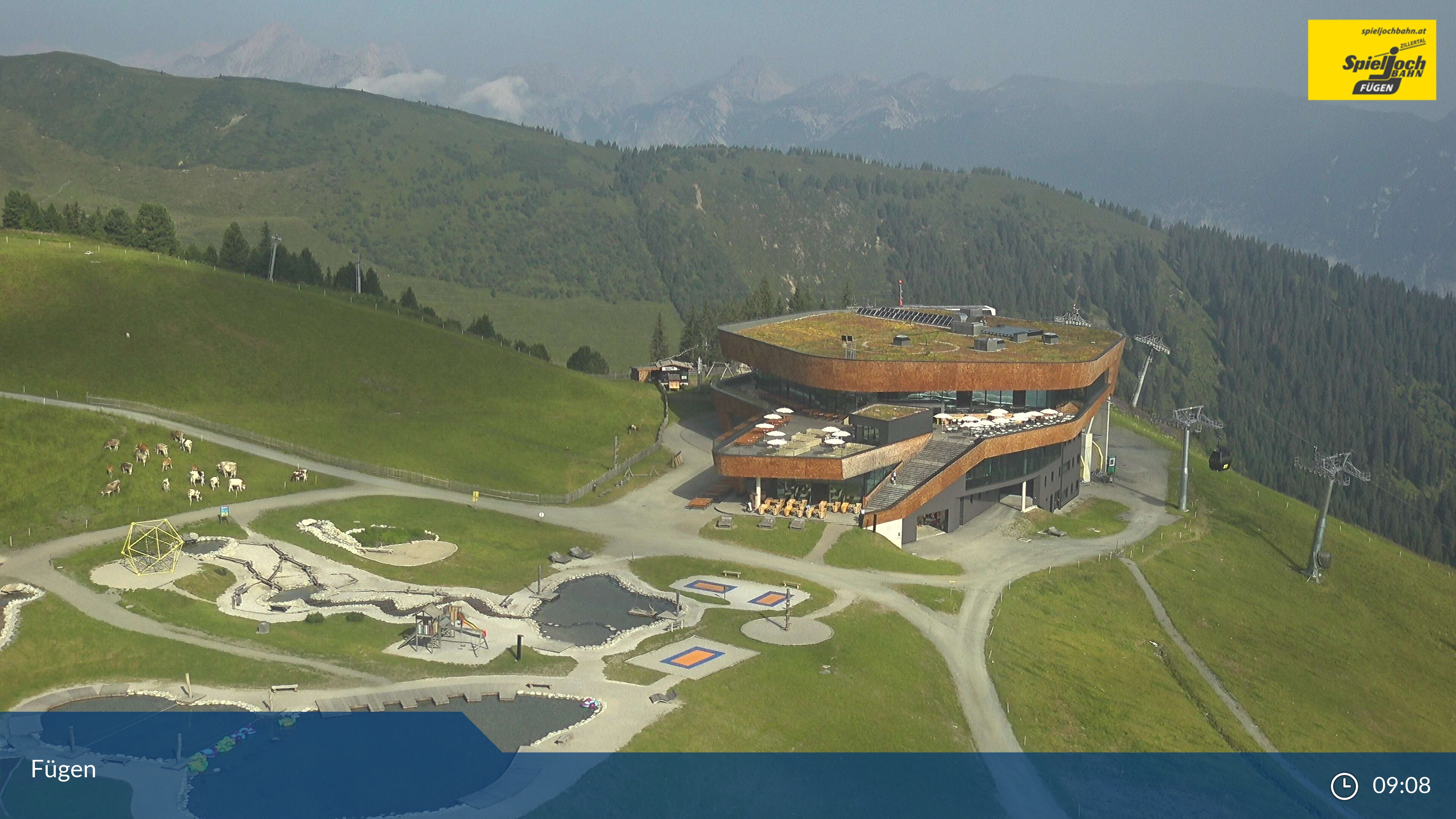 Webcam en Fügen - Onkeljoch, Zillertal (Austria)