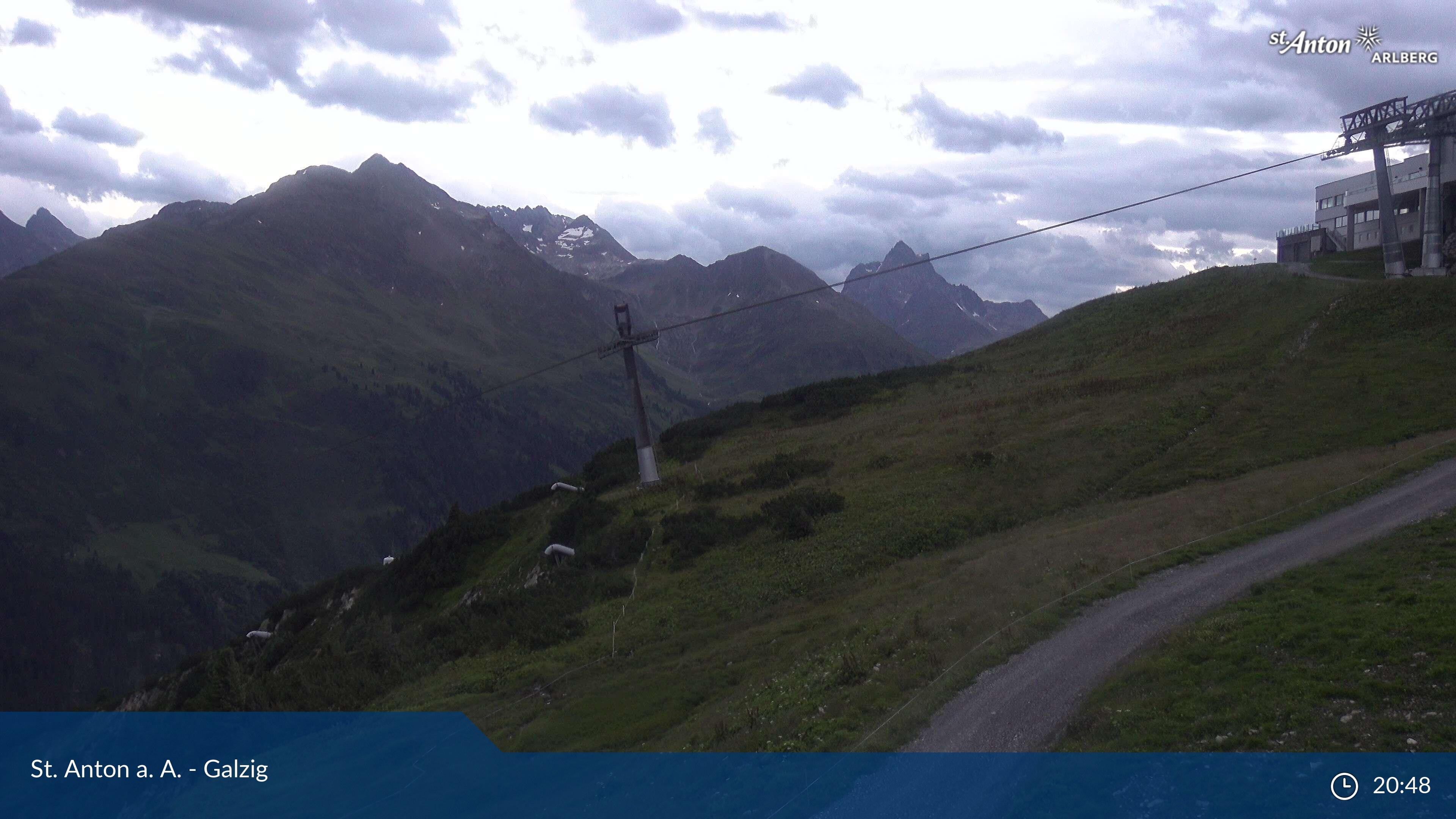 Webcam en Galzig, St. Anton am Arlberg (Austria)