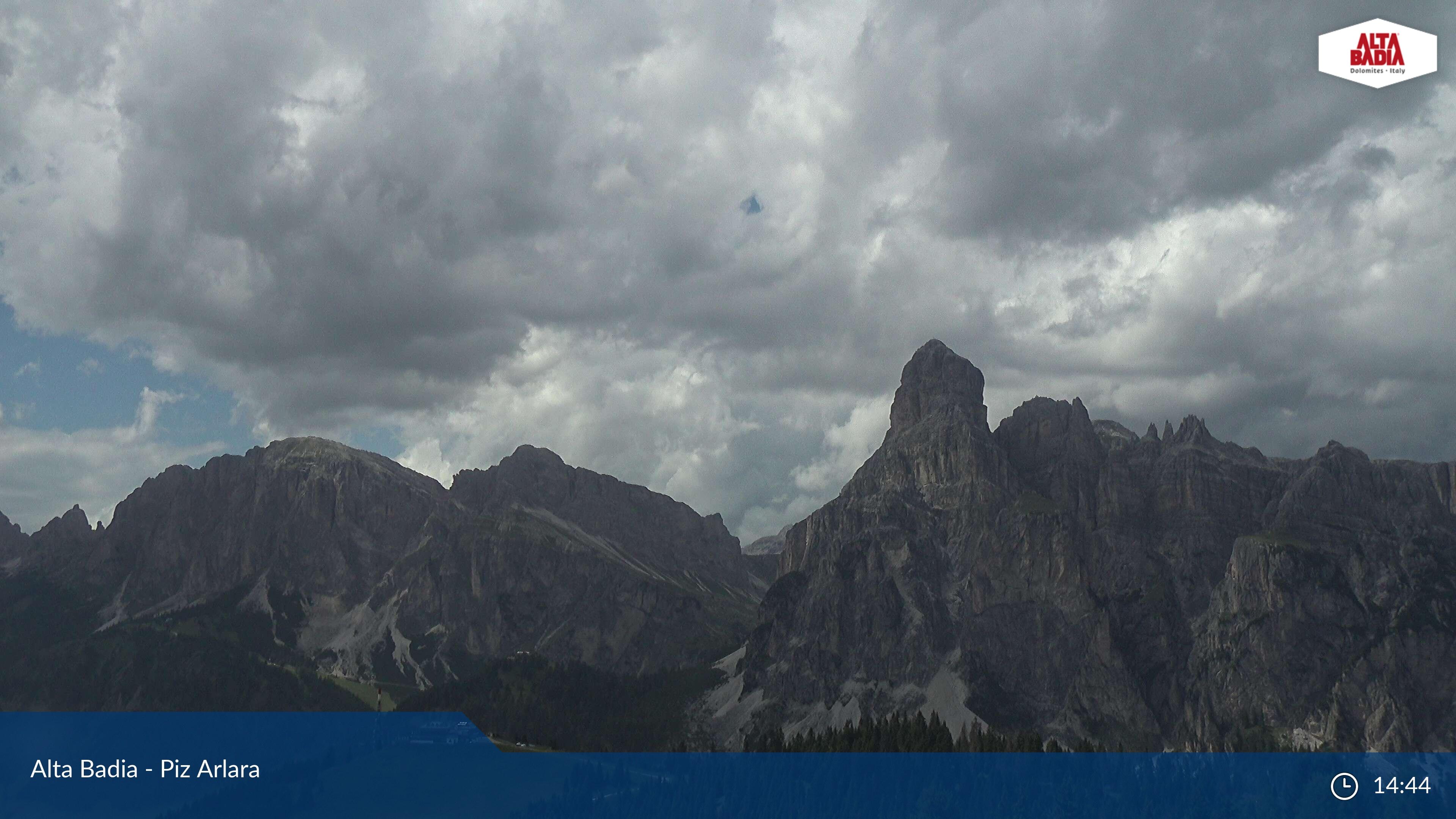 Webcam en Piz Arlara, Alta Badia (Alpes Italianos)