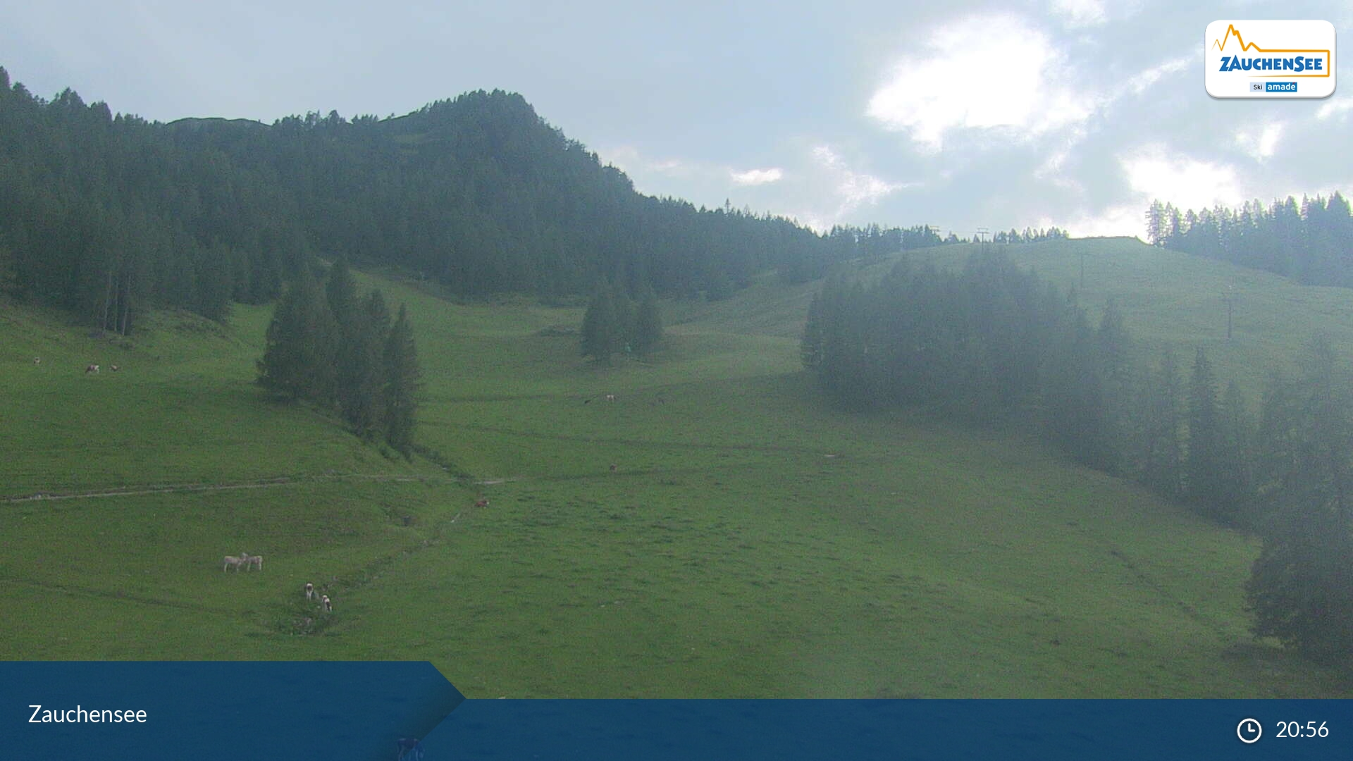 Webcam en Zauchensee - Weltcuparena, Flachau (Austria)