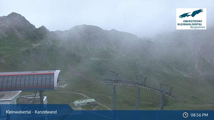 Livecam: Kanzelwand