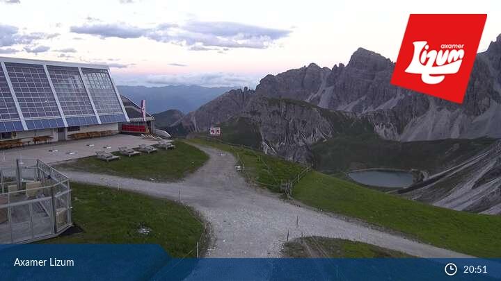 Webcam en Axamer Lizum - Axams, Innsbruck (Austria)
