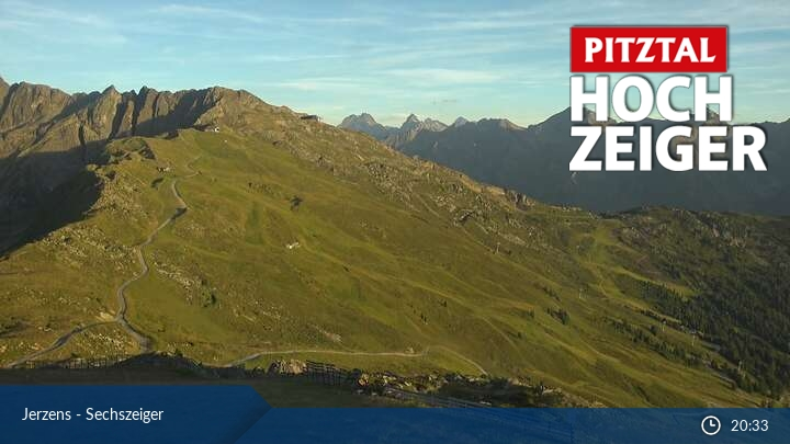 Webcam en Jerzens - Sechszeiger, Pitztal (Austria)