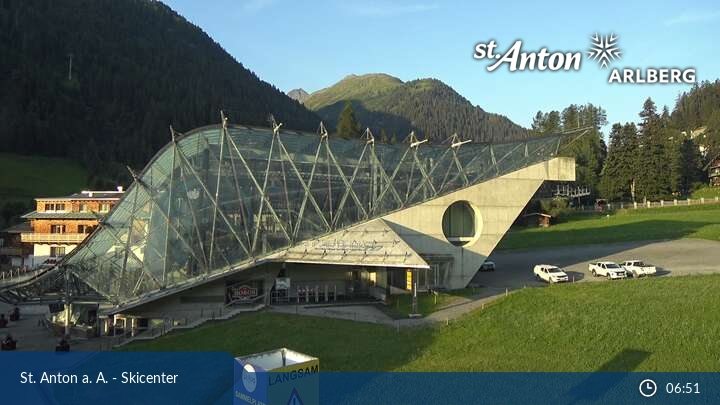 Base station of the Galzig lift (St. Anton am Arlberg)