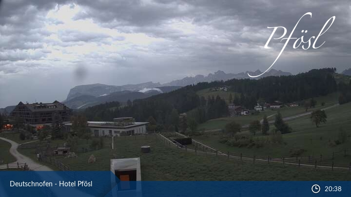Webcam Deutschnofen - Hotel Pfösl