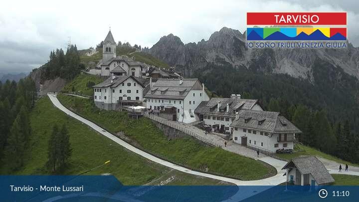 Webcam Monte di Santo Lussari